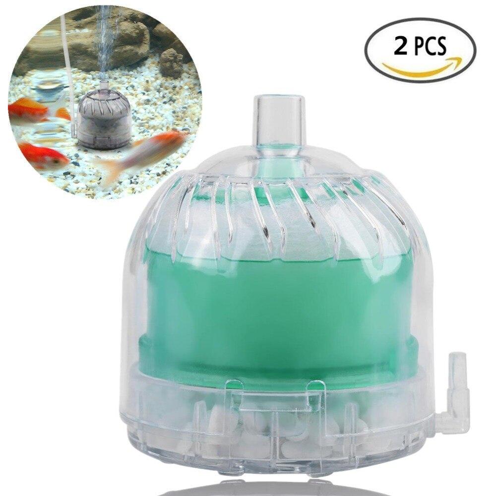 Mini Aquarium Fish Tank Pneumatic Biochemical Sponge Activated Carbon Filter no power  quickly cleaner high quality