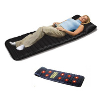 Electric Body Massage Mattress Multifunctional Infrared Physiotherapy Heating Bed Sofa Massage Cushion