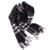 Luna & Dolphin Lujo Clásico A Cuadros 100% Mujeres de la Cachemira Bufandas de Invierno Cálido Bufanda Infinito Hombres Soft Bufandas de La Manera