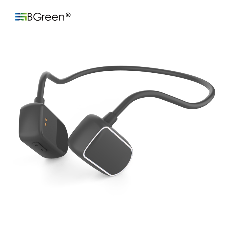 BGreen Bone Conduction Bluetooth Sports Headphone Wireless Sport Headset Waterpr