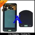 Envío libre 100% probado original para samsung galaxy j3 lcd 2016 versión j320f j320m pantalla lcd digitalizador asamblea