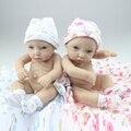 New Chegou Handmade Estilo de Vida Cheio de Silicone Bebê Reborn Boneca com Roupa Bonito Melhor Presente para a Menina/Menino ter Educacional brinquedos