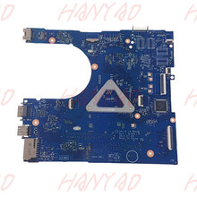 CN-0FRV68 0FRV68 For Dell 17 5558 5758 laptop motherboard mainboard LA-B843P i5 cpu DDR3 100% tested for toshiba l450 l450d l455 laptop motherboard gl40 ddr3 k000093580 la 5822p 100% tested