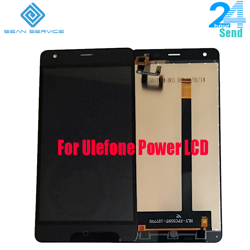 Ulefone originais Power Display LCD + Digitador da Tela de Toque Substituir Assemblely + ferramentas para Poder Ulefone 5.5''