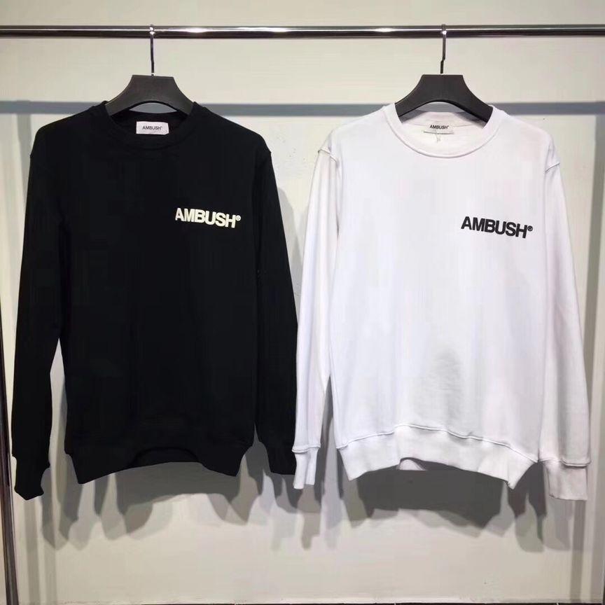 Date 18ss Hip-Hop Hip Hip EMBUSCADE Mode Hommes Femmes Sweat Japon marée Vêtements Planche À Roulettes Sweat Shirts Noir de pentecôte