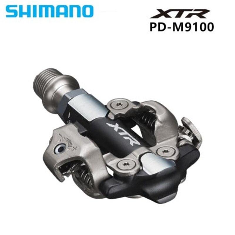 Boîte d'origine-emballé Shimano PD-M9100/PD-M9120 COURSE SPD Pédale Auto-Verrouillage SPD Pédales Vélo