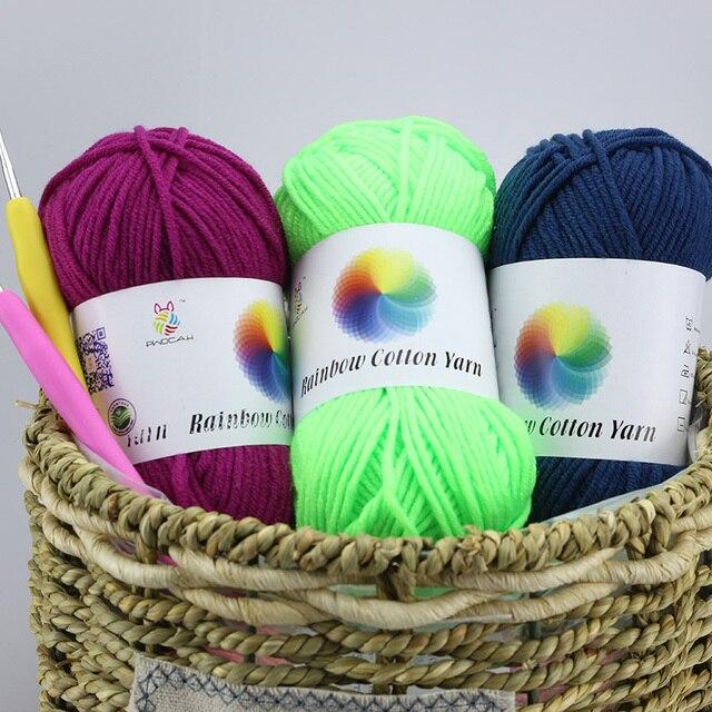 Großhandel Milch Baumwolle Häkeln Garn Für Handstricken Verkauf