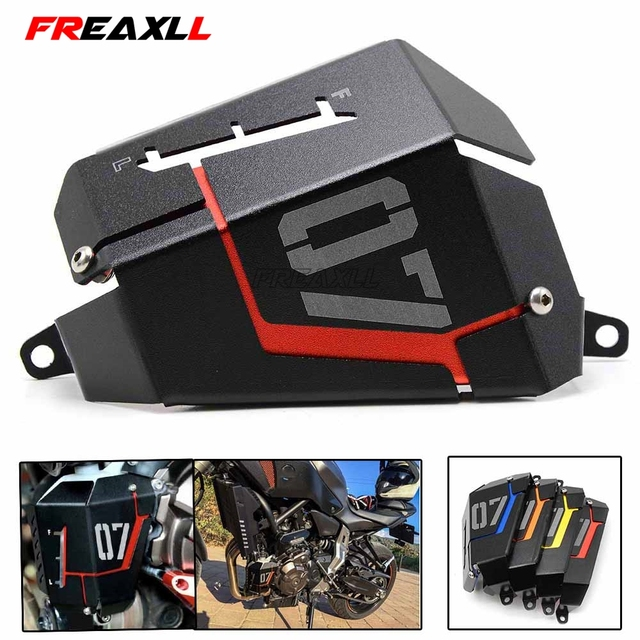 MT07 FZ07 CNC Motorcycle Radiator Side Protective Grille Guard Cover For YAMAHA MT-07 MT07 MT 07 FZ-07 FZ 07 FZ07 2014 2015 2016