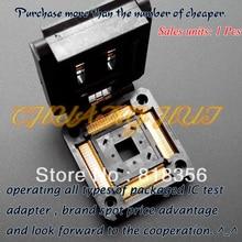 100% NEW TQFP208 QFP208 IC Socket IC51-2084-1052-55 Clamshell types Test socket adapter