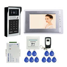 FREE SHIPPING New 7 LCD Color Screen Video font b Door b font Phone Doorbell Intercom