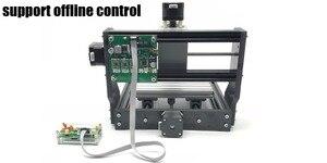 Image 2 - CNC 1810 GRBL kontrolü Diy mini CNC makinesi, 3 Eksen pcb Freze makinesi, Ahşap Router lazer oyma