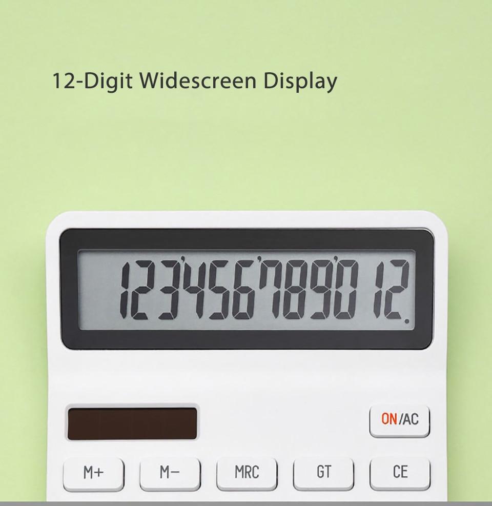 Kaco lemo desktop calculadora fotoelétrica dupla mergulho