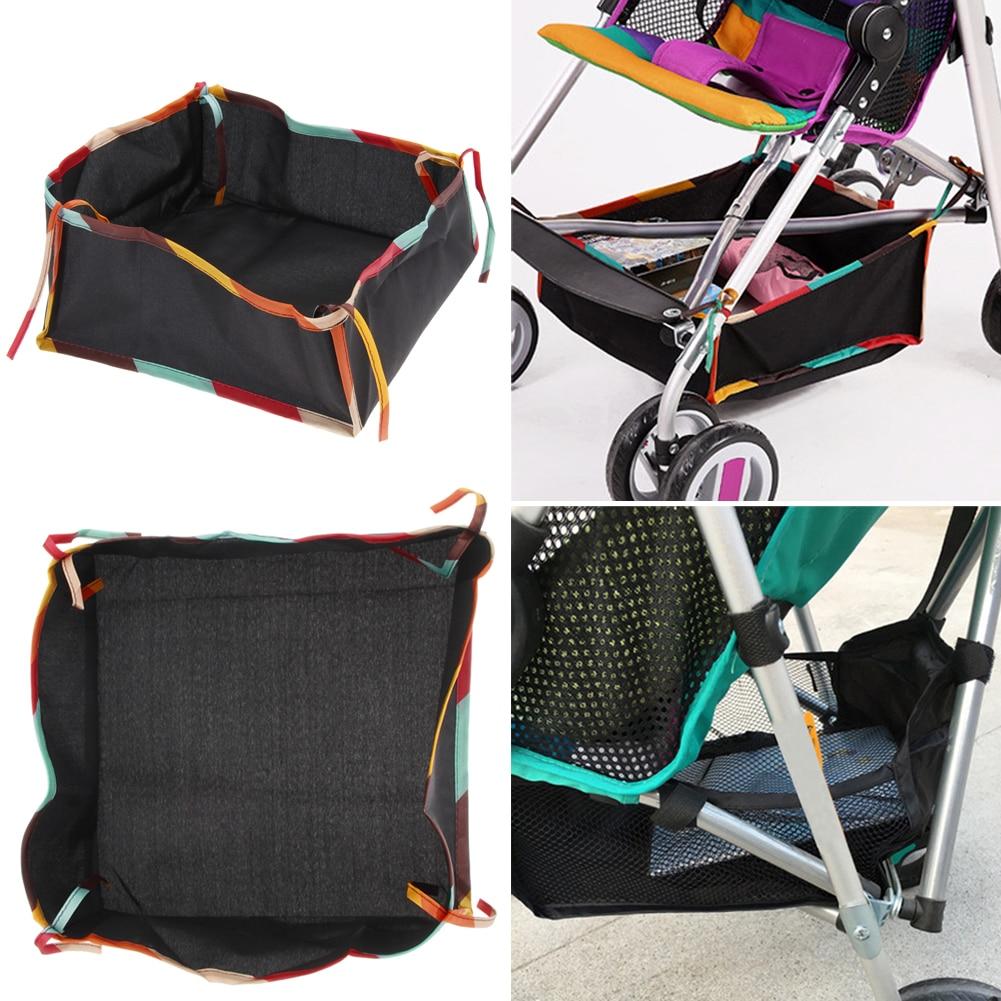 Universal Baby Accessories Storage Bag Multifunctional Baby Pushchair Hanging Storage Net Bag Stroller Accessories Baby Stuff