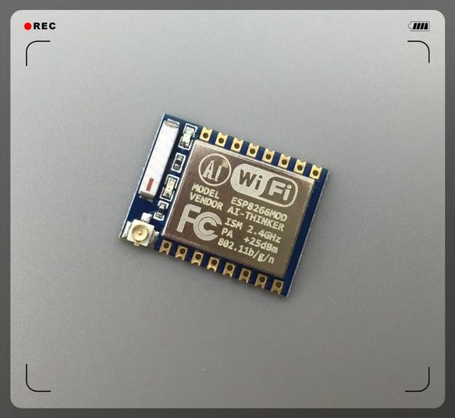 Nova versão 1 PCS ESP-07 ESP8266 WiFi Módulo Transceptor de Série sem fio REMOTO ESP-07 UNO COMPONENTE DO ROBÔ, Frete Grátis