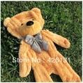 Venta al por mayor recinto de los osos de peluche de piel de oso de la felpa de juguete 180 cm cumpleaños regalo de san valentín marrón blanco amarillo envío gratis