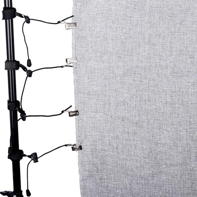 Pinzas de Fondo de estudio para fotografía, 8 unids/lote, abrazaderas de fondo, soporte de abrazadera, Clip de fondo, soportes de muselina, clips