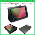Leather Case For  Google Nexus 7 Stand Folio luxury leather case Magnetic Cover