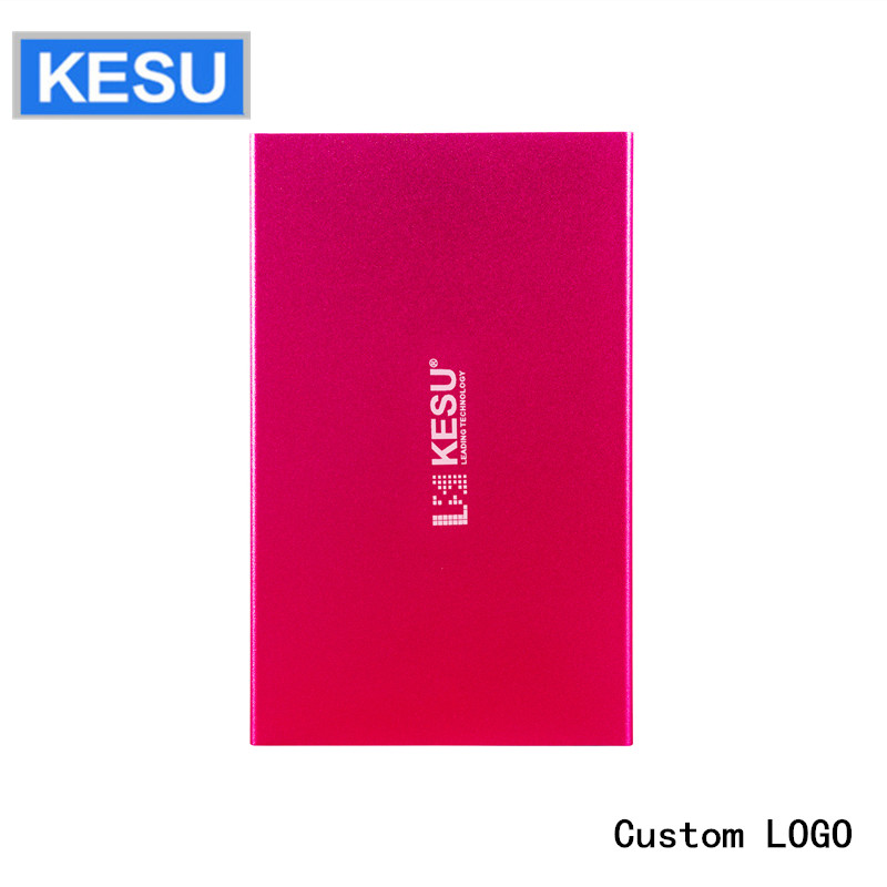 Portable External Hard Drive Custom LOGO USB2.0 250gb 320gb 500gb 1tb hard disk external  HDD External HD Hard Disk for PC/Mac(China)