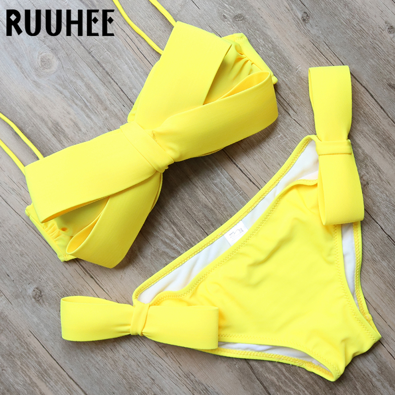 Bikini Set Swimwear 2016 Women Swimsuit Sexy Push up Beach Bathing Suit