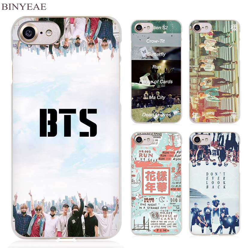 Binyeae Bts Bangtan Boys Clear Cell Phone Case Cover For
