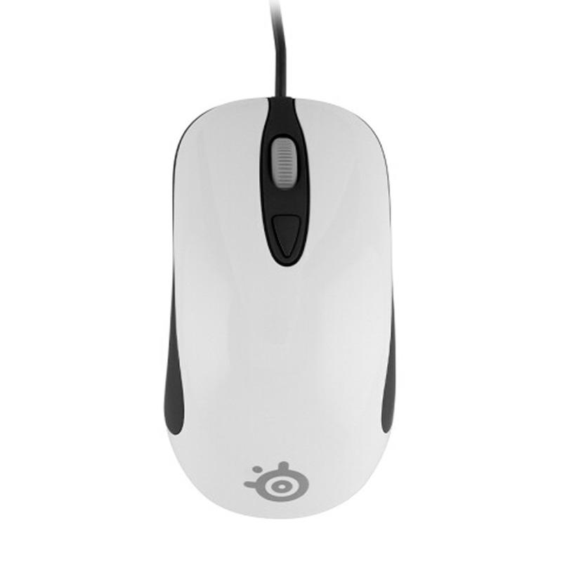 100% Original Steelseries KINZU V3 Optical Gaming mouse,4000 DPI,Performance 4 Buttons USB Wired Computer Mice White 17