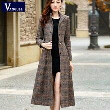 Panjang Wol Tinggi Mantel