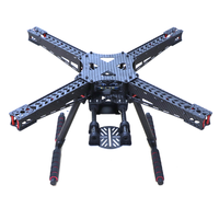 X450 450mm Full Carbon Fiber Quadcopter Frame kit with Carbon Fiber Landing Gear fit for 2 / 3 axis gimbal upgrade F450