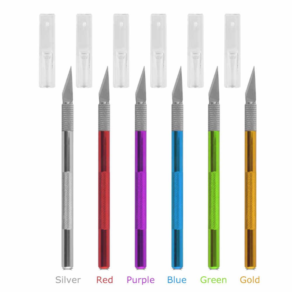 1 Ручка ножа с 10 лезвие на замену 1 # мобильный телефон PCB DIY ремонт ручные инструменты хирургический скальпель лезвие