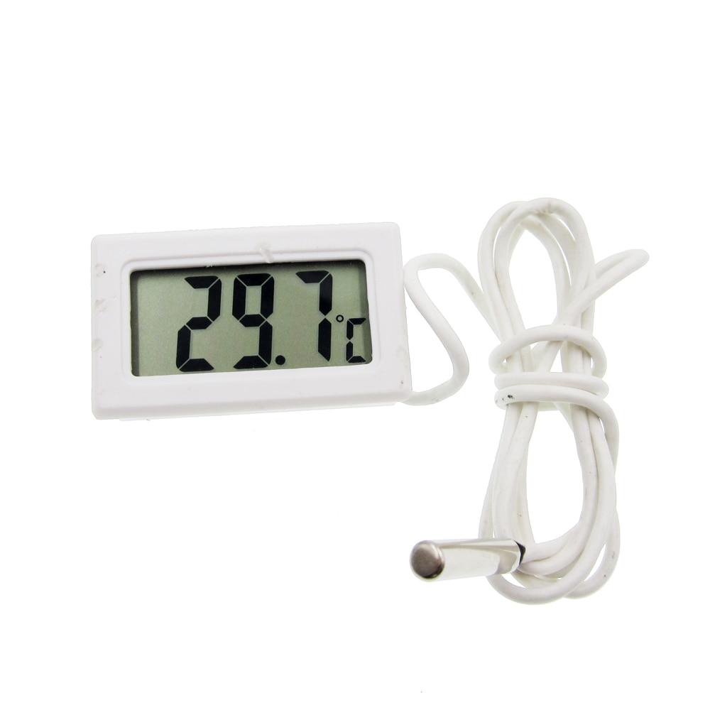 5pc LCD Display Car Refrigerator Aquarium Fish Tank Embedded Electronic Digital Thermometer