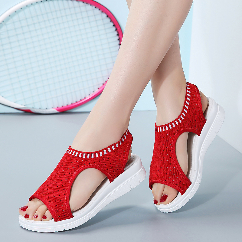Akexiya Sexy Open-toed Womens Sport Sandals Wedge Women Sandals Outdoor Cool Platform Shoes Woman Beach Summer Sneakers 2019 NewAkexiya Sexy Open-toed Womens Sport Sandals Wedge Women Sandals Outdoor Cool Platform Shoes Woman Beach Summer Sneakers 2019 New