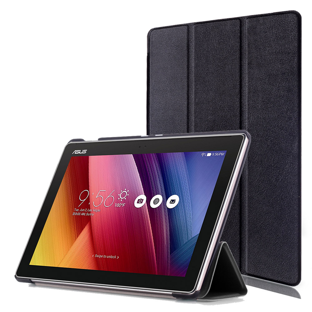 Ultra Slim Smart cover For Asus ZenPad 10 10.1 Z300 Z301 tablet pu leather case magnet stand closured Z301ML Z301MLF flip cover flip left and right stand pu leather case cover for blu vivo air