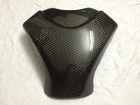 scooter parts/ Real Carbon Fiber 3D Tank Pad Protector Fits for SUZUKI GSXR1000 2007 2008 K7 carbon /free shipping