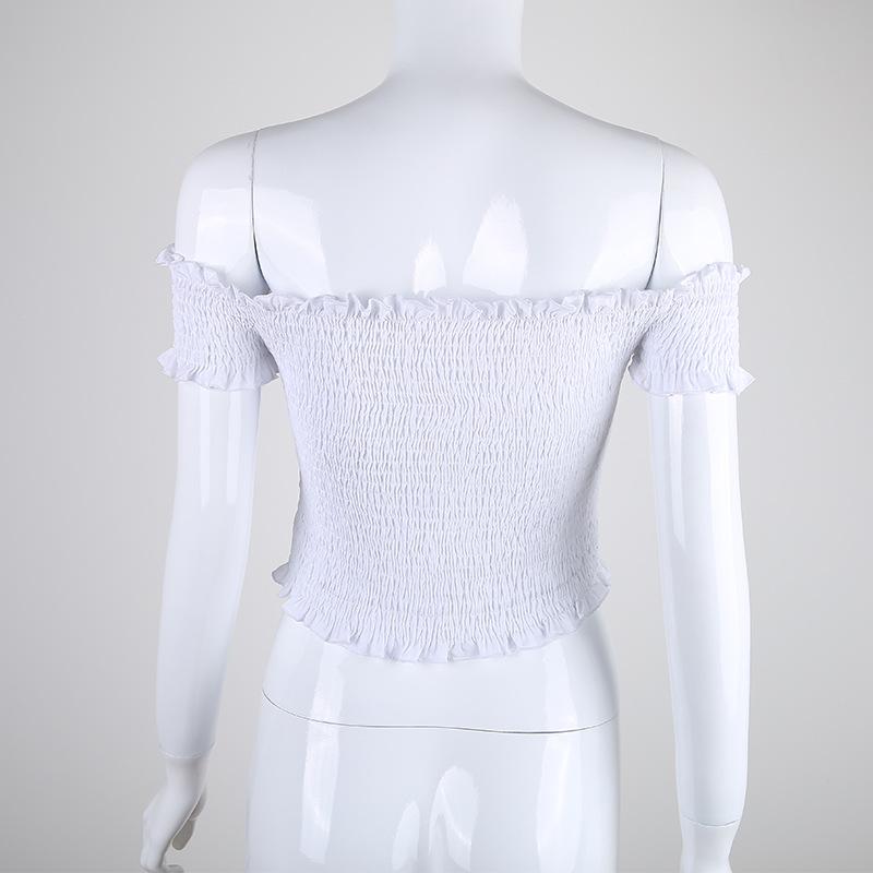 HTB1JJ9rQpXXXXaIapXXq6xXFXXXn - Off Shoulder White Crop Top PTC 26