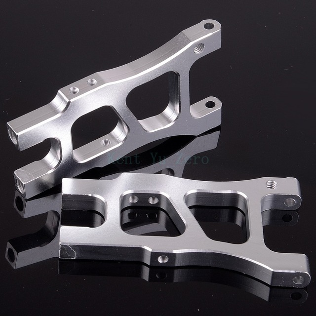 Rear Lower Suspension Arm 06053 Upgrade Parts 166021 Silver For 1/10 RC Car HSP Redcat Himoto