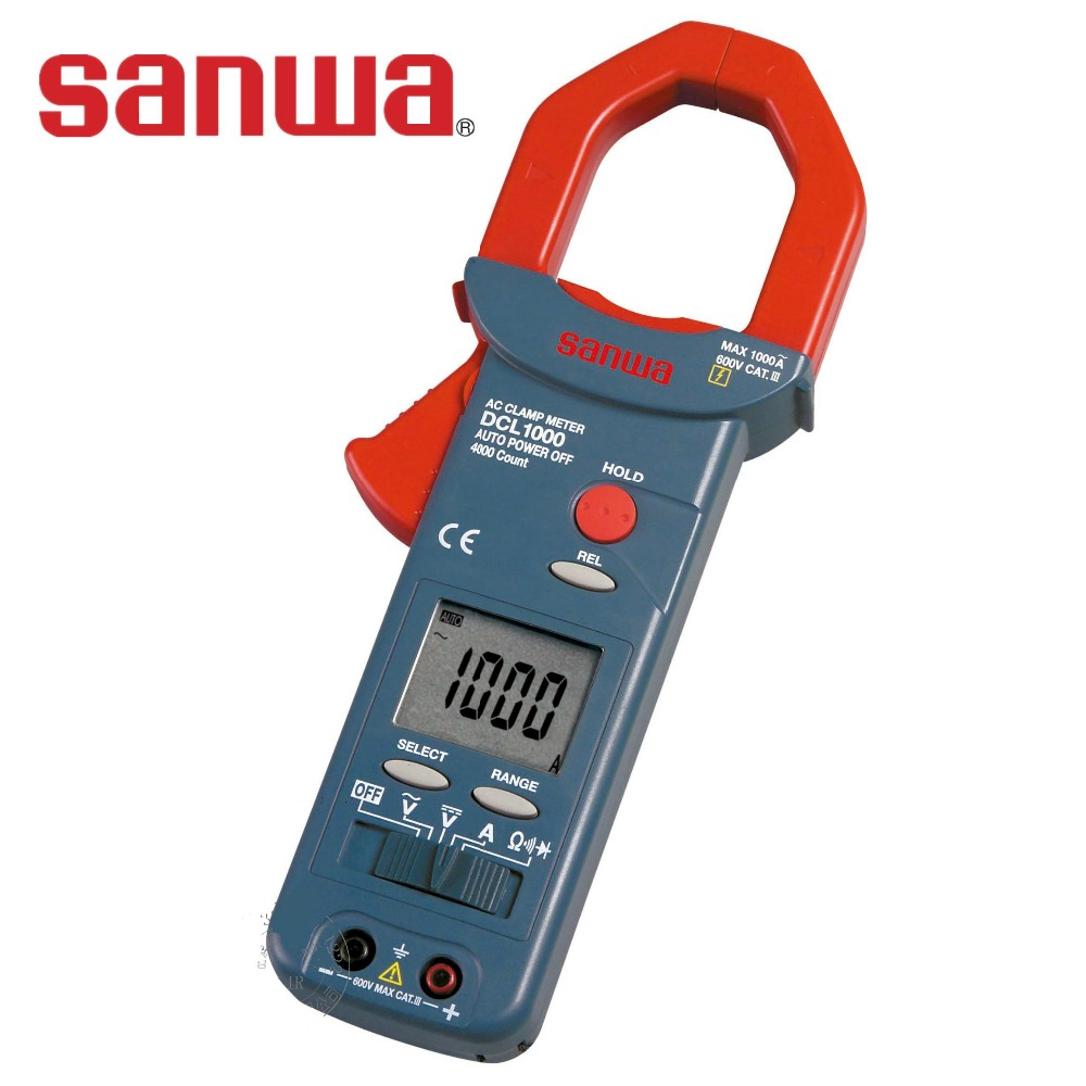 Sanwa Clamp Meter : Sanwa dcl clamp meter in multimeters from tools on