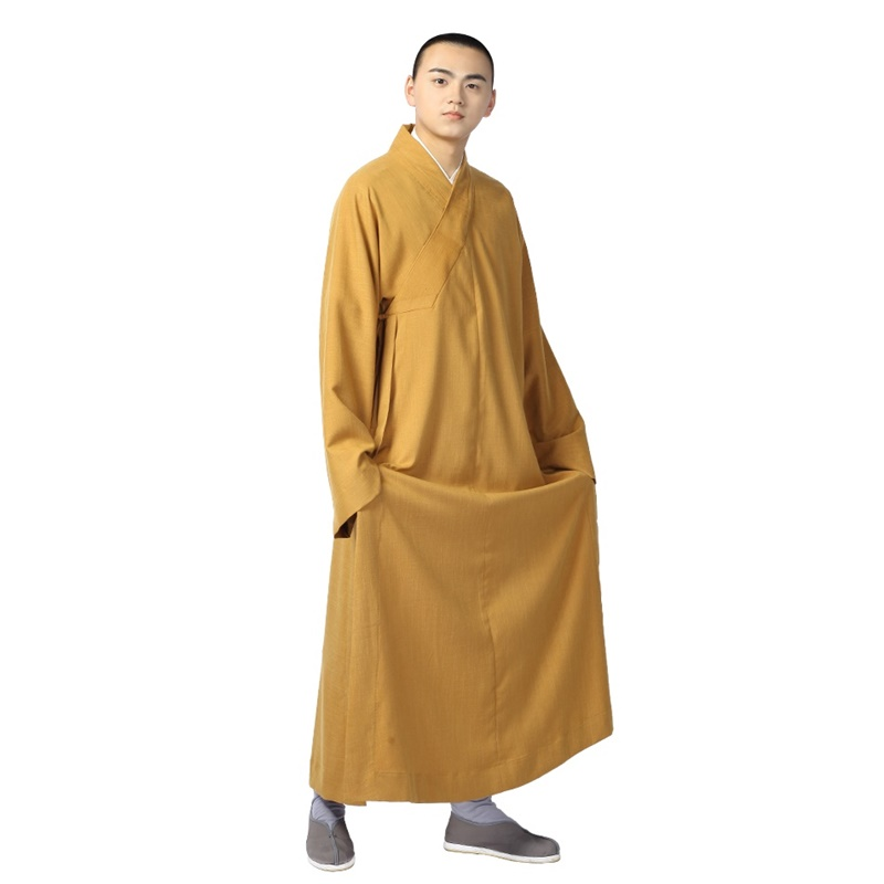 Buddhist monk robes uniform zen clothing shaolin monk clothes buddhist monk costume TA530