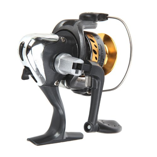 Good deal 5 BB Ball Bearing Left/Right Interchangeable Collapsible Handle Fishing Spinning Reels High Speed 5.2:1 BF200