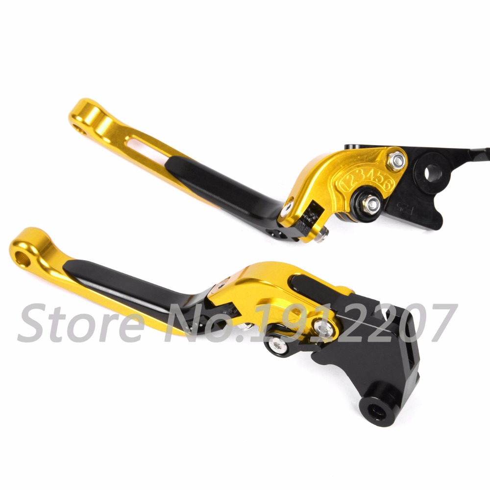 ФОТО For Suzuki BANDIT 1200 1997-2000 Foldable Extendable Brake Clutch Levers Aluminum Alloy CNC Folding&Extending Motorbike Brakes