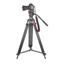 JieYang jy0606 jy-0606 Profesjonalny Statyw statyw kamery/Wideo Statywu/Dslr WIDEO Statyw Fluid Głowy Tłumienia na wideo