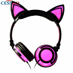 2017 Japanese Style Cute Removable Headphones Kids Child Birthday Gifts Headset Earphone for iPhone 7 6 Plus Andriod MP3 Gifts