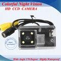 El Envío Gratuito! para sony ccd chip de visión trasera inversa cámara de reserva para Peugeot 206 207 306 307 308 406 407 5008 Socio Tepee
