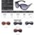 Feidu 2017 enormes óculos polarizados óculos de sol das mulheres marca de moda de alta qualidade grande quadro óculos de sol para homens óculos oculos feminino
