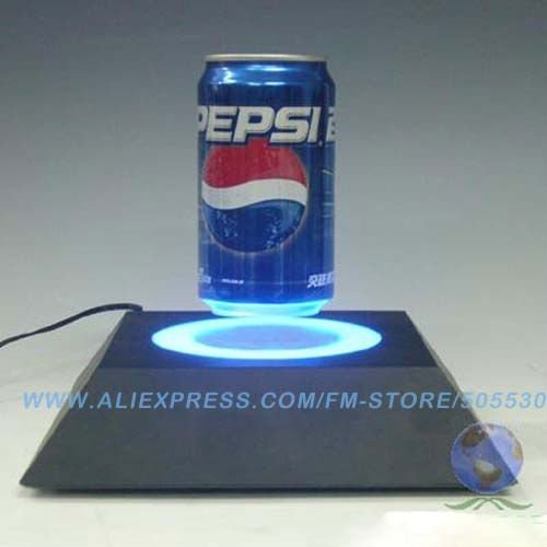 Novelty Gadget Magnetic levitation rotating pop display for brand promotion souvenirs gift