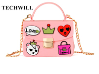 New Fashion Brand Silicone Shoulder Bag High Quality Women Jelly Messenger Bags Chain Strap Crossbody Bag