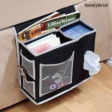 Прикроватный органайзер для хранения стол подвесной карман для организации журналов телефон небольшие вещи компактная кровать пакет
