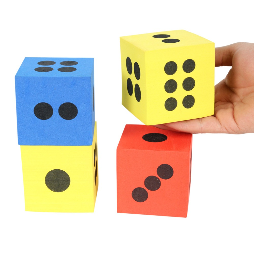 Colorful Foam Educational Toys For Children High Quality Foam Dice Toy Block Kingdergarden Interactive Game Kids Party Games funny fishing game family child interactive fun desktop toy