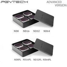 PGYTECH передовые Mavic 2 Pro фильтр Камера Линзы Фильтры ND8/16/32/64-PL ND8/16/32/64 для DJI Mavic Pro/Air 2/Pro Аксессуары для дрона