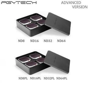 Image 1 - PGYTECH Advanced Mavic 2 Pro Filter Camera Lens Filters ND8/16/32/64 PL ND8/16/32/64 for DJI Mavic 2 Pro Drone Accessories