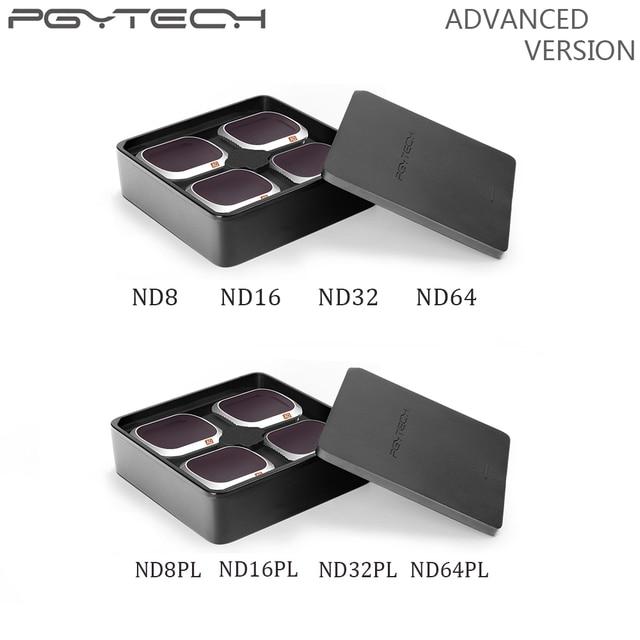 PGYTECH 高度な Mavic 2 Pro のカメラレンズフィルター ND8/16/32/64 PL ND8/16/ 32/64 dji Mavic 2 ッドランディングダンピングボールアクセサリー