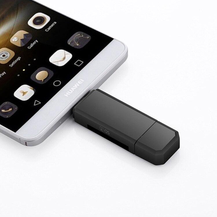 טלויזיות, פלאזמות, LCD OTG קורא כרטיסים Micro SD / SD Card / USB כרטיס טלפון נייד Reader TF High-Speed 20 Multi-Function קורא כרטיסים של דגם של שבאיסור (3)